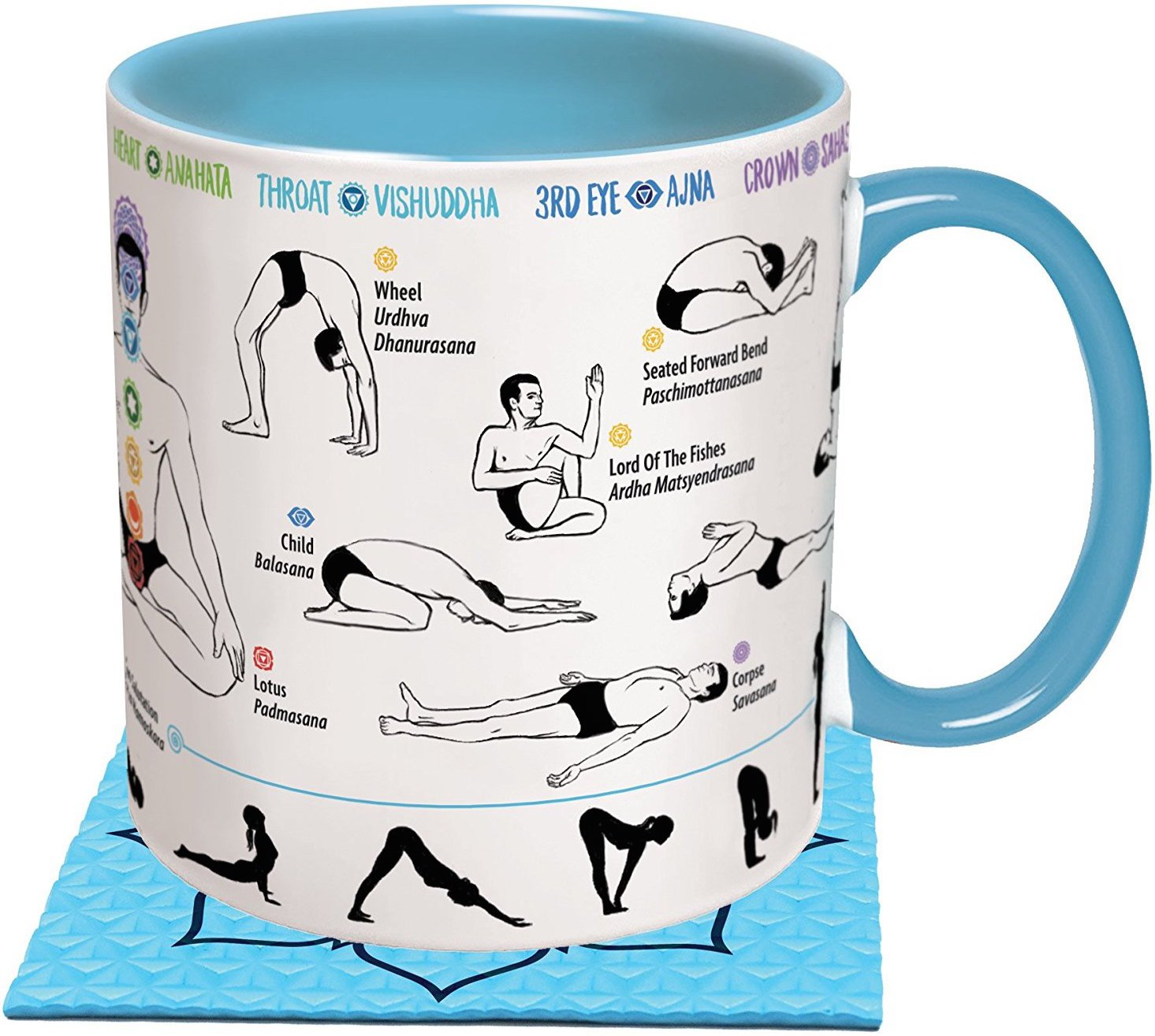 Yoga Coffee Cup