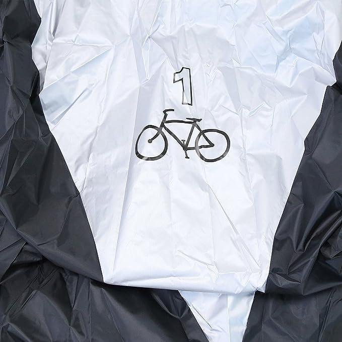 ANFTOP Funda para Bicicleta Funda Protector de bici Polyester ...