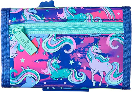 Smiggle Good Vibes Scented Kids Character Wallet for Girls /& Boys with Large Zipped Compartment for Money Graffiti Print