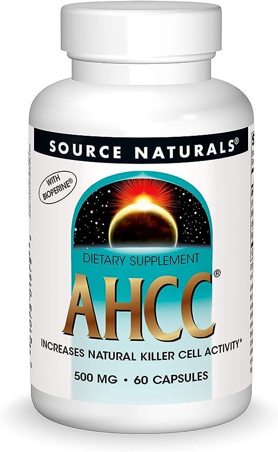 Source Naturals AHCC With BioPerine