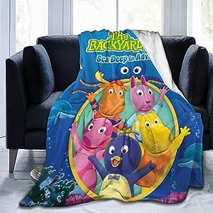 HappyTree The Backyardigans Novelty Blanket Fleece Throw Blanket Super Soft Lightweight for Kids