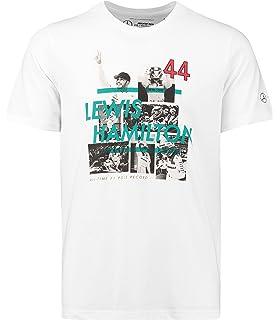 T-Shirt mit Formel-1-Motiv Lewis Hamilton