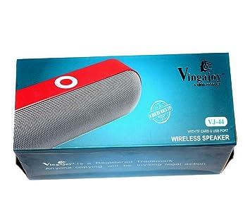 5c431a4ea75 B One Vingajoy Wireless Speaker VJ-44  Amazon.in  Electronics