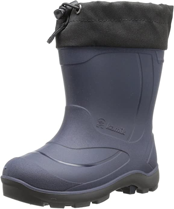 Kamik Kids' Snobuster1 Snow Boots, Navy, 12 M US Little Kid
