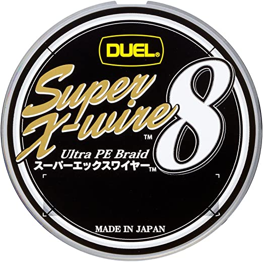 デュエル スーパーエックスワイヤー8 150m 1.0号 シルバーの画像