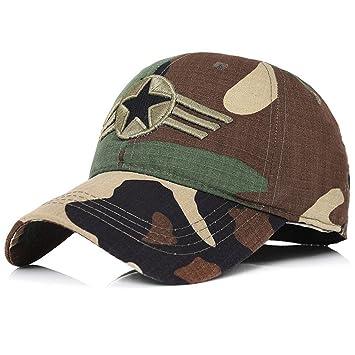 WY-Bufanda Camuflaje Sombrero de Béisbol Gorra al Aire Libre Bordado Casual  Pantalla de Sol 3ed931e25fa