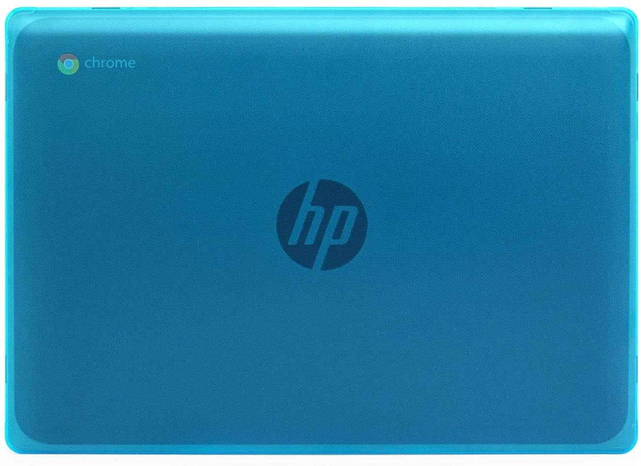 "mCover Hard Shell Case for New 2020 11.6"" HP Chromebook 11 G8 EE laptops (Aqua)"