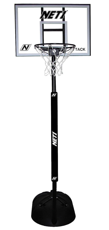 Ten80° NET1 Attack Youth Tragbare Basketball-System, weiß B07C56XXJ2 | Wonderful