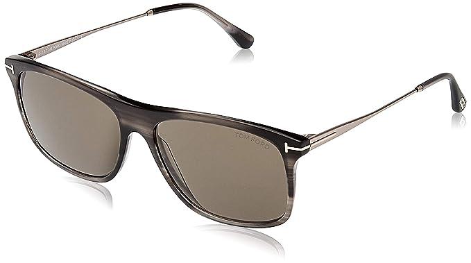 Amazon.com: anteojos de sol TOM FORD ft 0588 Max- 02 20 A ...