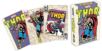 signs-unique Marvel- Deck de Cartas, diseño de Thor ...