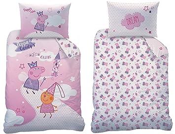 Familando Peppa Pig Peppa Wutz Baby Bettwäsche Set Größe 100 X 135cm 40 X 60cm 100 Baumwolle Fairytale 100 Baumwolle Renforcèlinon