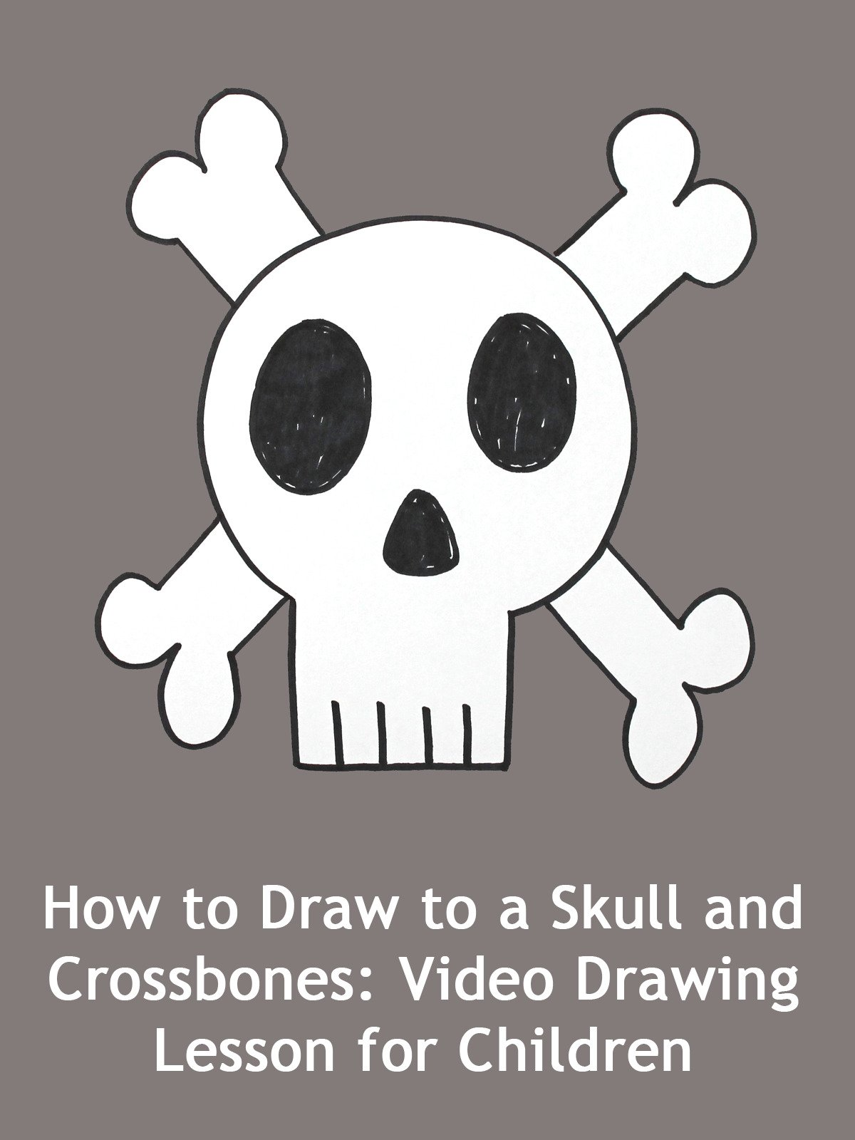 Watch How To Draw A Cute Frankenstein Cartoon For Kids And