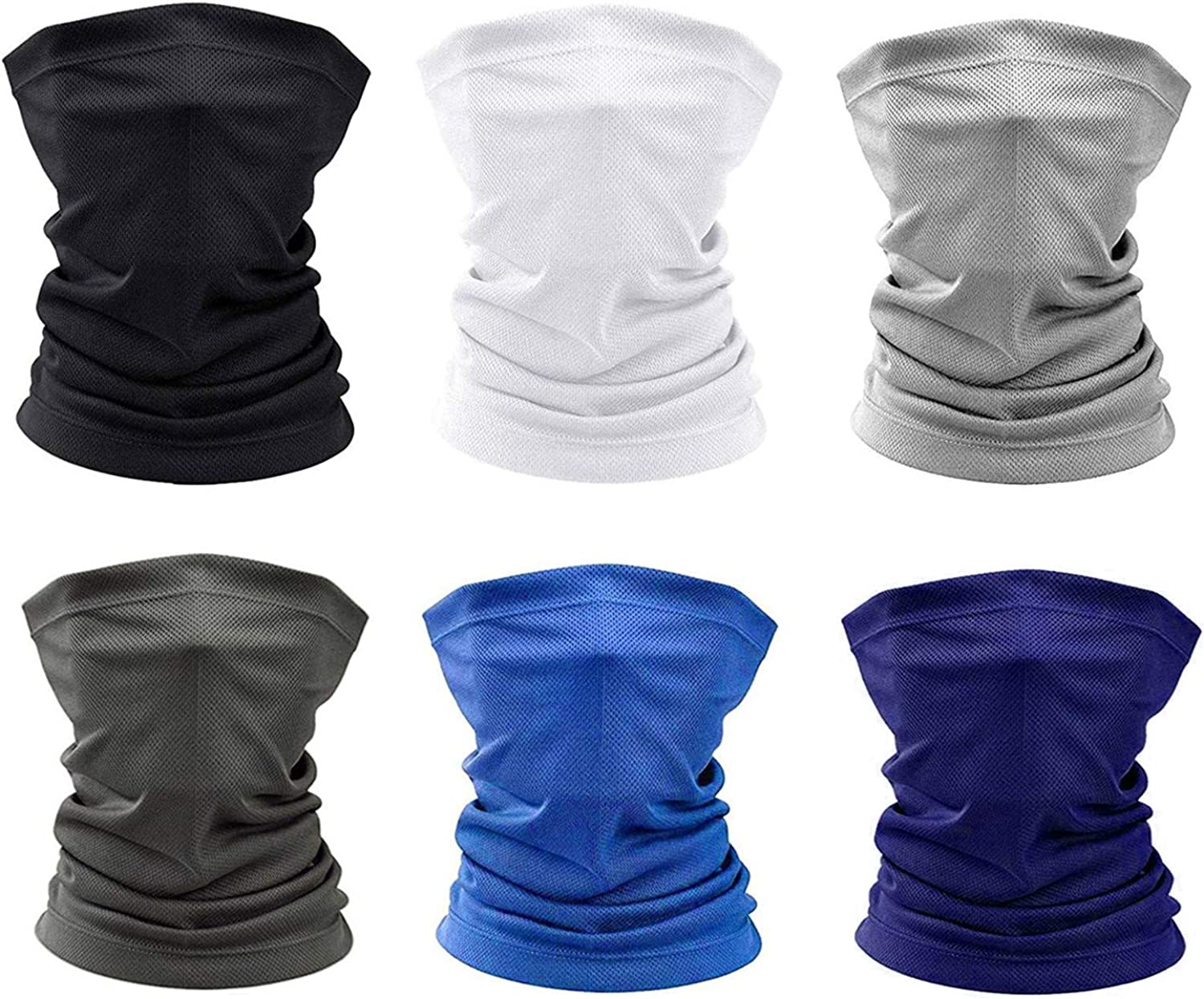 Summer Face Mask Protection from Dust, UV, Breathable Bandana, Washable Reusable Magic Face Cover