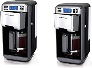 Hamilton Beach 12 Cup Digital Automatic LCD Programmable Coffee Maker (2 Pack)
