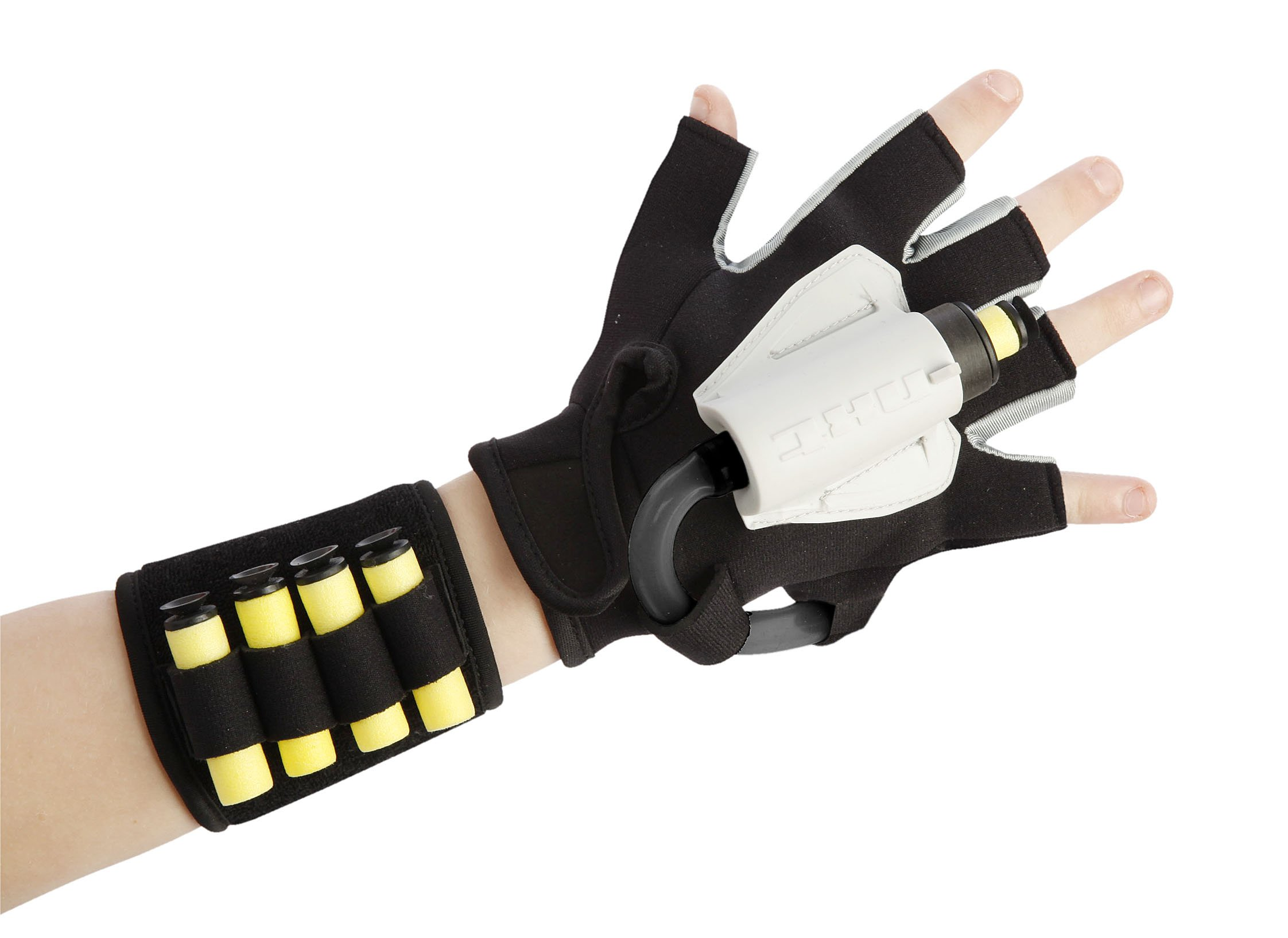 Nxt Generation C-1 Spider Glove with Foam Dart Launcher - Accurate Glove for Kids on the Run - Comes with Wristband Quiver & Suction Cup and VELCRO Foam Darts
