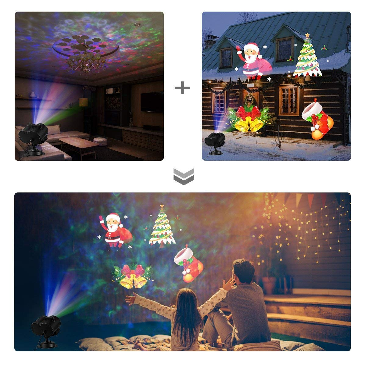 star shower window wonderland led projector lights outdoorindoor christmas halloween decorations mcgradyxm 12 movies