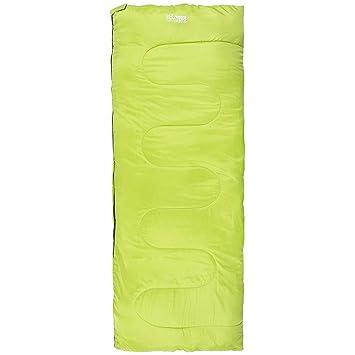 Highlander - Saco de dormir para adultos Sleepline 250 Envelope, color amarillo limón, tamaño único, SB034-LM-01: Amazon.es: Deportes y aire libre