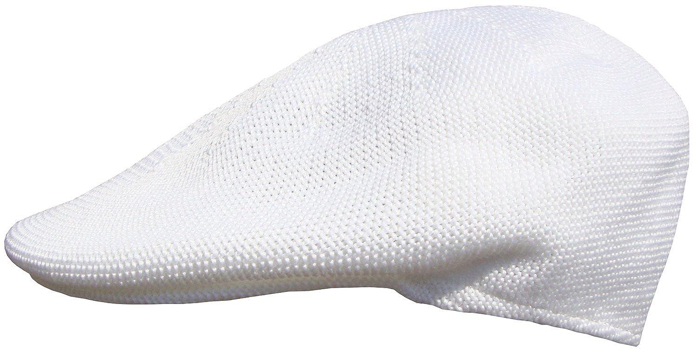 Mens White Flat Cap