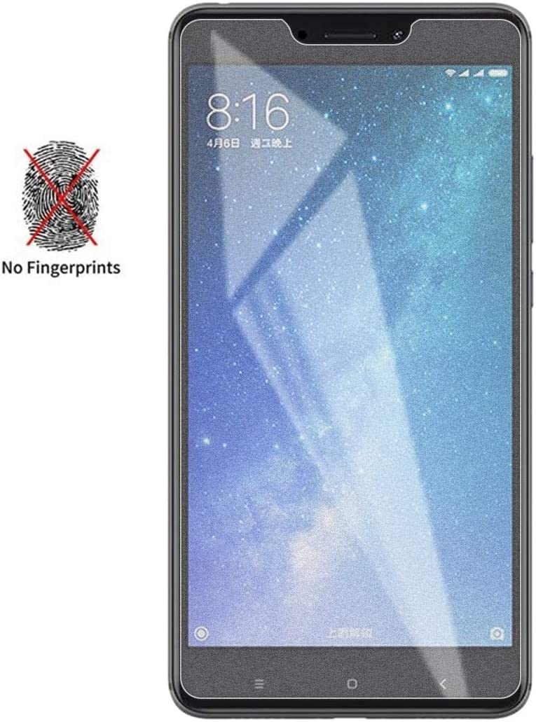 HAIJUN Phone Screen Film 50 PCS Non-Full Matte Frosted Tempered Glass Film for Xiaomi Mi Max 3 No Retail Package Anti-Scratch Tempered Glass