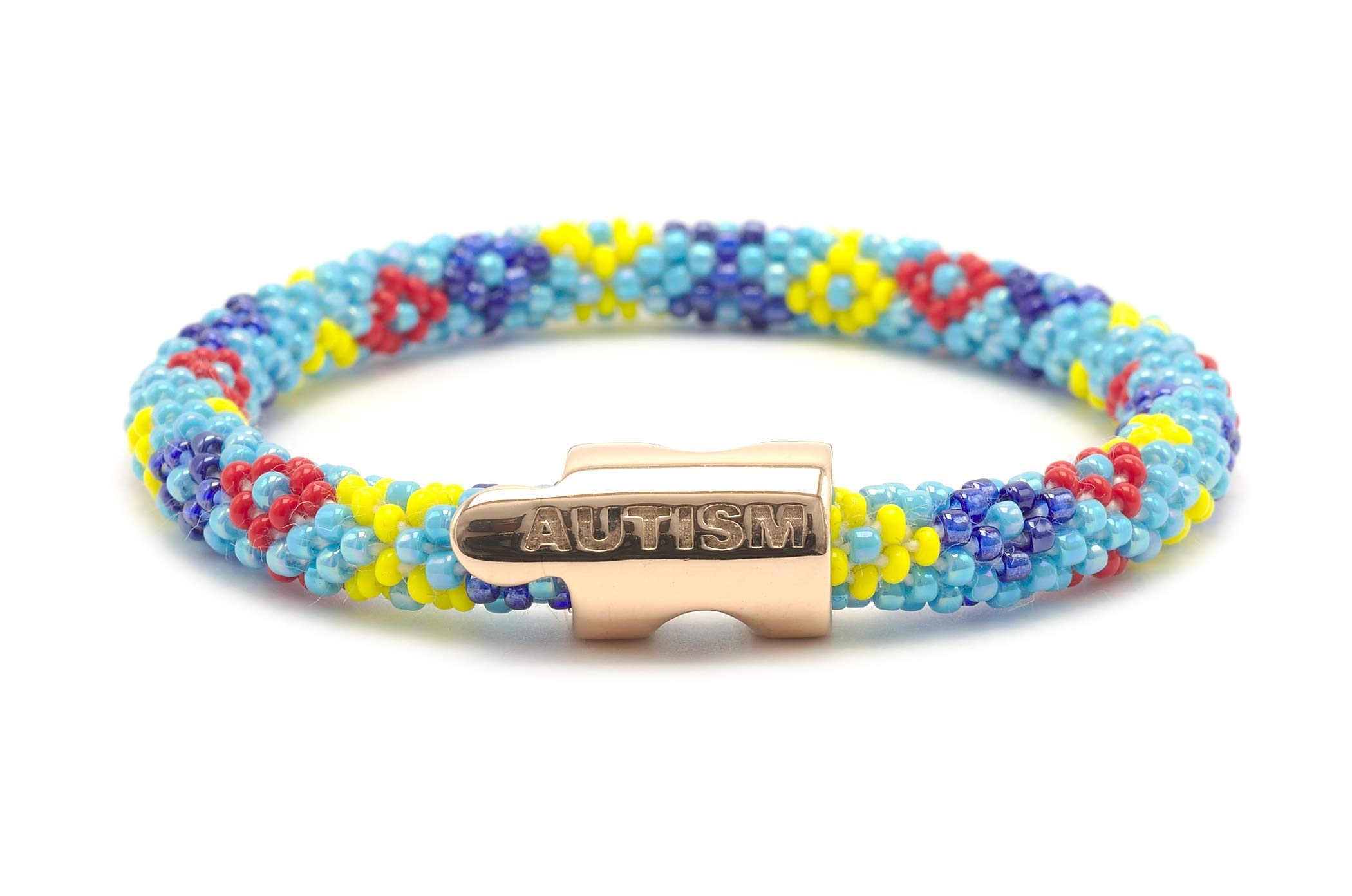 Sashka Co. Autism Charm Bracelet