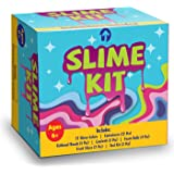 Slime Kit & Supplies (Containers, Charms, Fishbowl Beads, Foam Balls, & More!) | DIY Fluffy, Cloud & Clear Premade Slime Making Gifts for Kids Boy & Girl Ages 4, 5, 6, 7, 8, 9, 10 Year Old