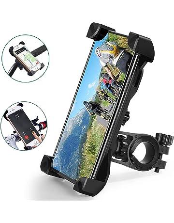 VORCOOL Anti de Shake/ /Tel/éfono M/óvil Soporte universal silicona moto Tel/éfono Soporte para iPhone Samsung Google Pixeles GPS Negro