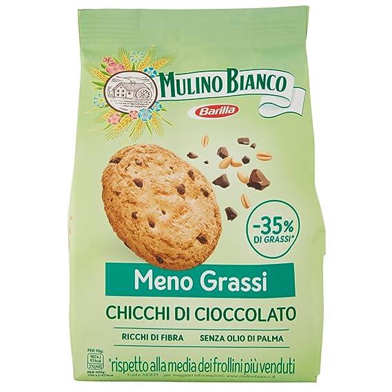 Mulino Bianco Biscotti Frollini Chicchi di Cioccolato, 300 gr