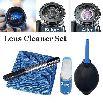 Kit de limpieza de lentes de limpieza para cámaras Canon Nikon ...