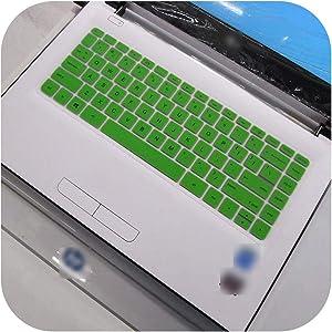 for Hp Spectre X360-4113Tu 4114 Pro X360 G2 M4Z17Pa 2016 13 Inch Laptop Keyboard Silicone Keyboard Skin Cover-Green-
