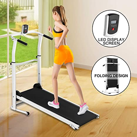 ANAELLE Pandamoto cinta plegable para correr: Amazon.es: Deportes ...