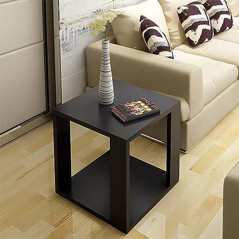 D&L Legna Impermeabile Tavolino da salotto, Quadrata Divano ...