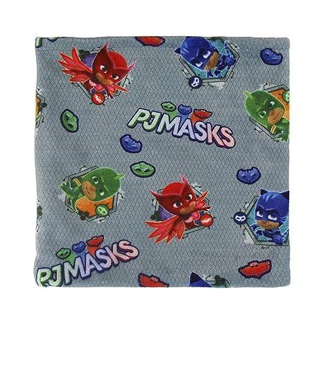 Cerdá PJ Masks, Bufanda para Niños, (Gris 001), One Size (