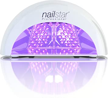 NailStar Professional 12W LED Nail Dryer   Nail Lamp With 4 Countdown  Timers For LED And