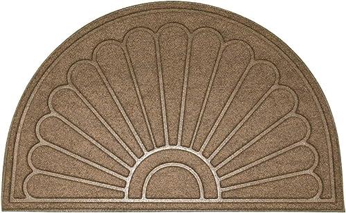 Mats Inc. Sunburst Mats, 2 x 3 , Brown