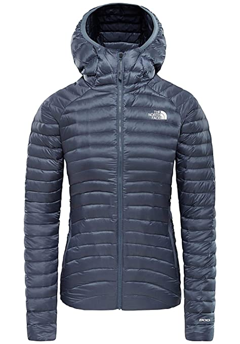THE NORTH FACE Impendor Down Hoodie Jacket Women tin grey