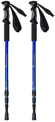 BAFX Products - 2 Pack - Anti Shock Hiking / Walking / Trekking Trail Poles
