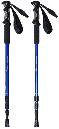 BAFX Products - 2 Pack - Anti Shock Hiking / Walking / Trekking Trail Poles - 1 Pair