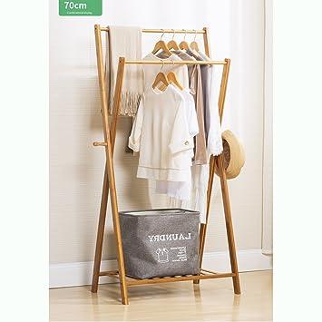 Kleiderständer Schlafzimmer wasserdicht holz kleiderständer stabil robust garderobenständer mit