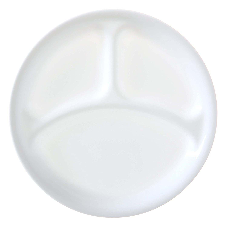 Corelle 0.95 Litre Vitrelle Glass Winter Frost White Serving Bowl, Pack of 3 World Kitchen 3127