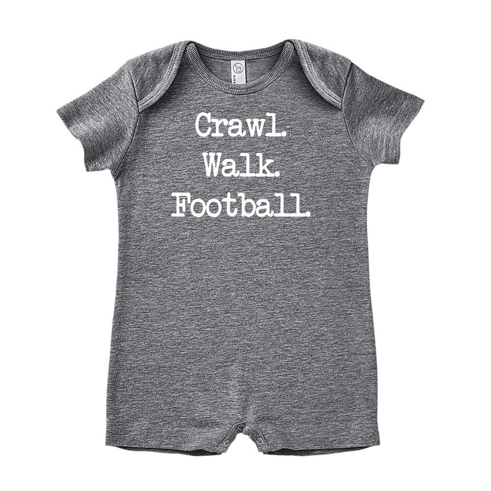 Mashed Clothing Crawl - Baby Romper Walk Football
