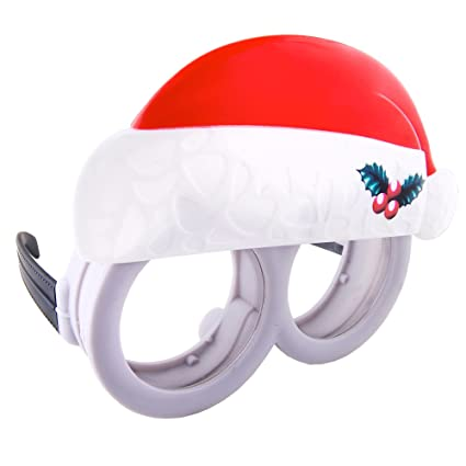 ae2d03429d Image Unavailable. Image not available for. Color  Sunstaches Despicable Me  Minions Christmas Sunglasses