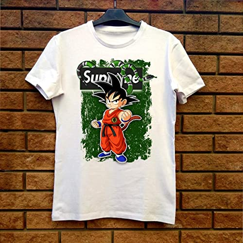 602d26433af6 Image Unavailable. Image not available for. Color: Supreme Gucci Son Goku - Dragon  Ball Z Fan Gift T-Shirt