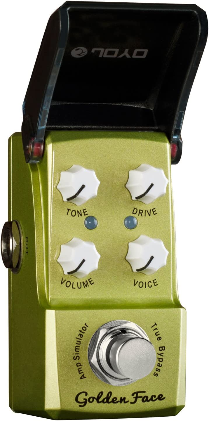 JOYO JF-308 de oro Cara Amp Sim mini-efectos para guitarra Pedal Ironman