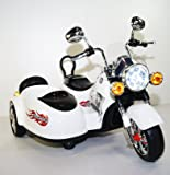 3 seater (2regular +1 small for 2 years old) 12V Ride-on Car Motorcycle for Kids with SX-138 2 Motors LED MUSIC