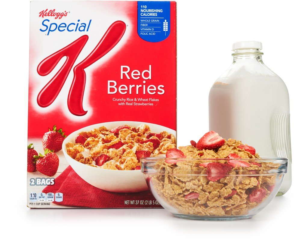 Kellogg's Special K Red Berries Cereal (37 oz.)vevo