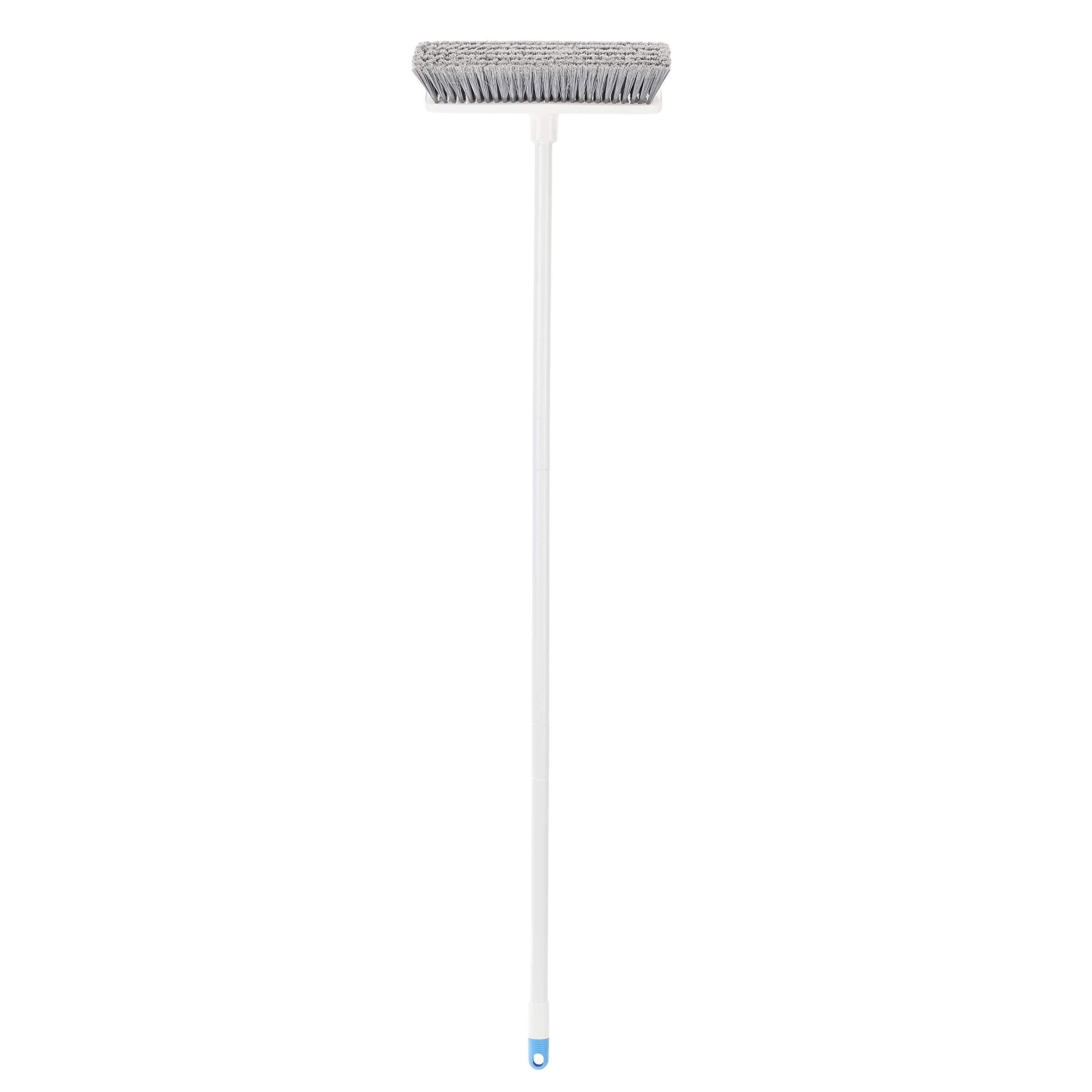 AmazonBasics Angled Push Broom, Blue&White