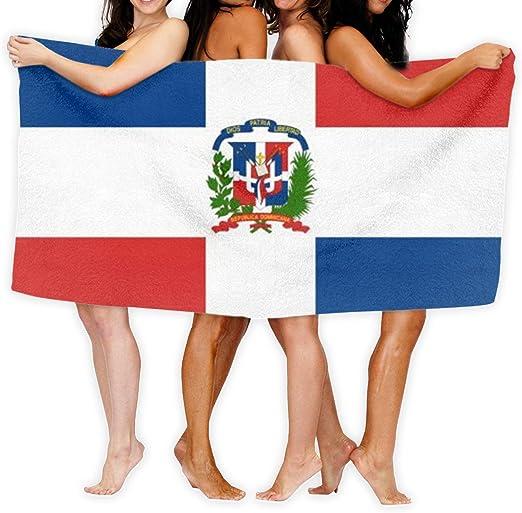 yting Bandera de República Dominicana Toallas de baño Grandes Toalla de Playa Toalla de baño Absorbente de Viaje Suave 130 x 80 cm: Amazon.es: Hogar