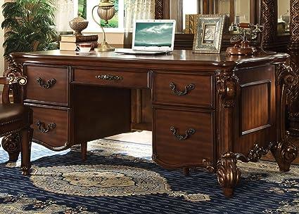 Acme Furniture ACME Vendome Cherry Executive Desk
