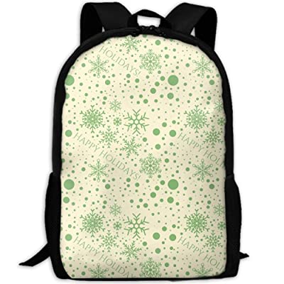 free shipping SZYYMM CustomPrinted Christmas Pattern Oxford Cloth Fashion Backpack,Travel/Outdoor Sports/Camping/School, Adjustable Shoulder Strap Storage Backpack For Women And Men