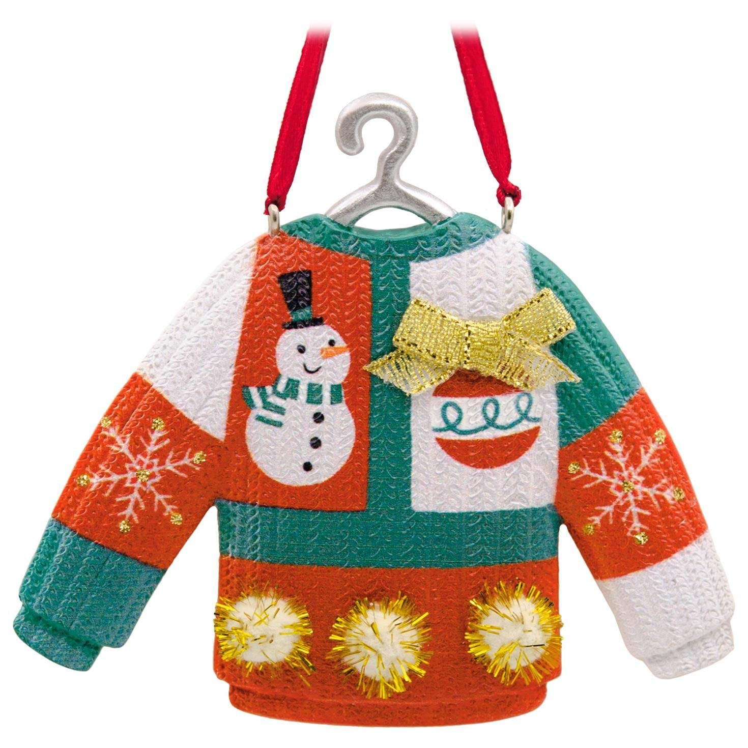 Hallmark Ugly Christmas Sweater Ornament